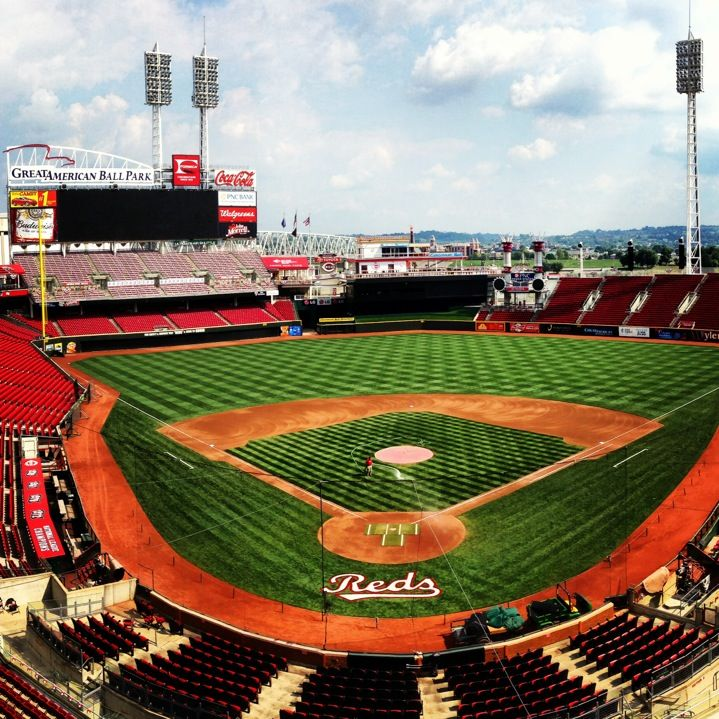 Great American Ball Park In Cincinnati Oh With Images Cincinnati Baseball Park Downtown Cincinnati
