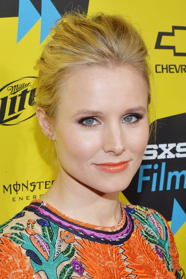 The 7 Makeup Products Kristen Bell Swears By For Glowing