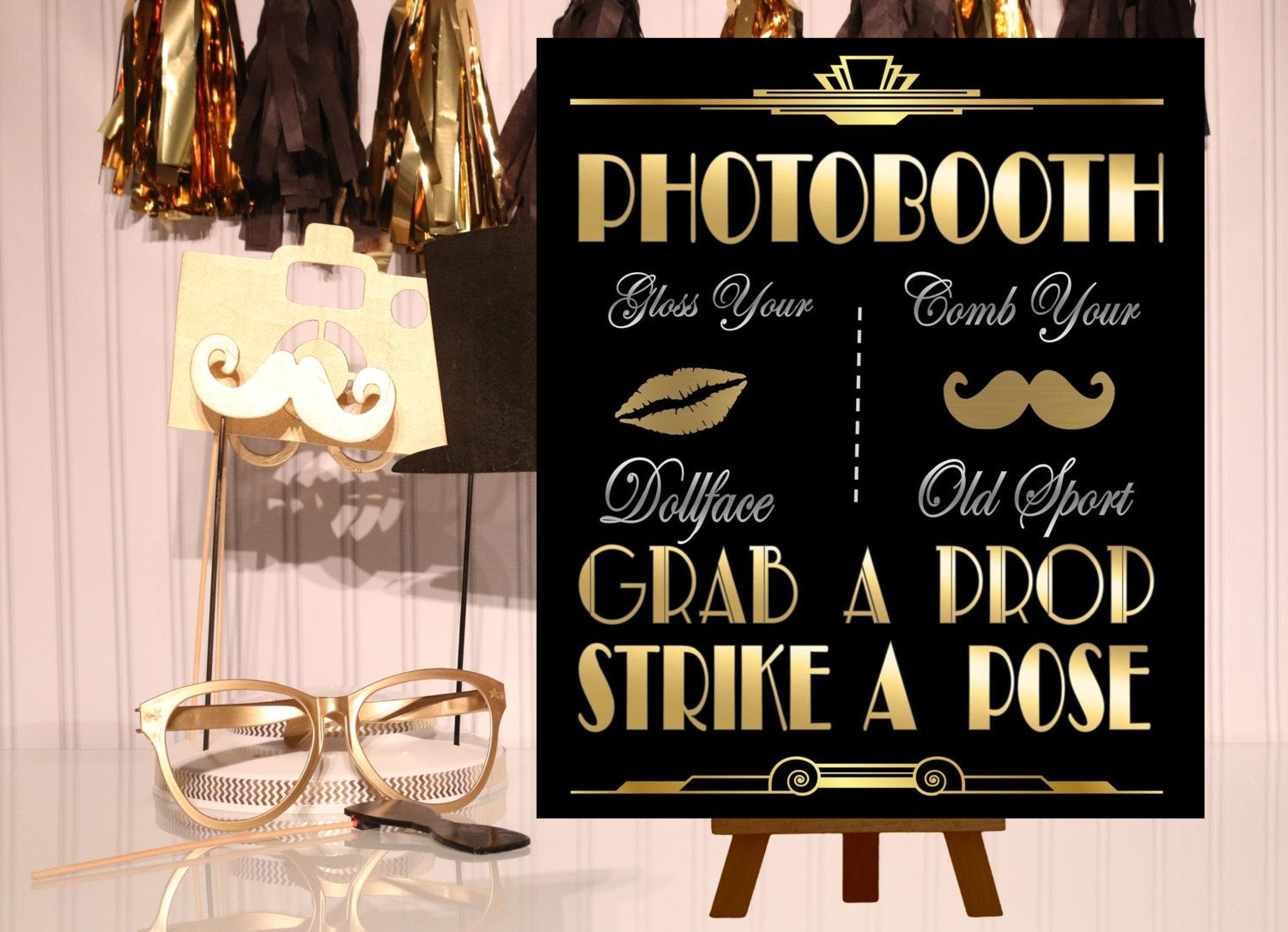 popular items for art deco wedding on etsy | christmas party ideas