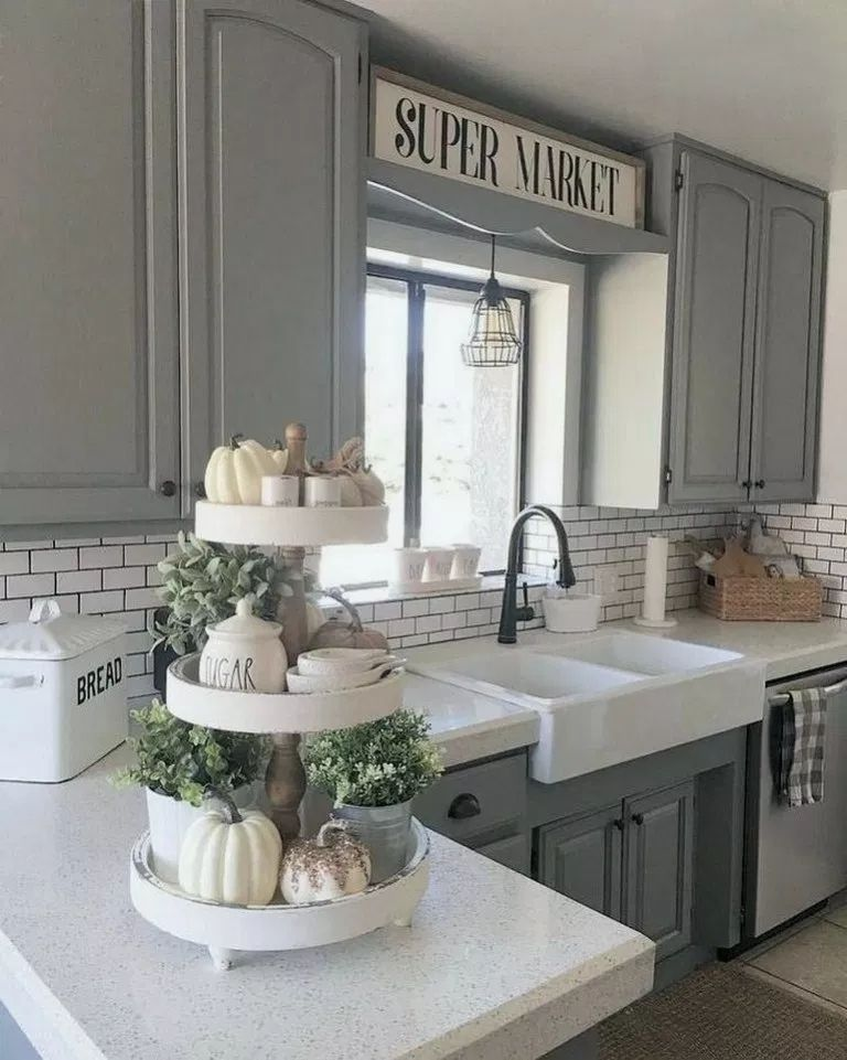 23 Dreamiest Farmhouse Kitchen Decors To Remodel Your Kitchen - homimu.com