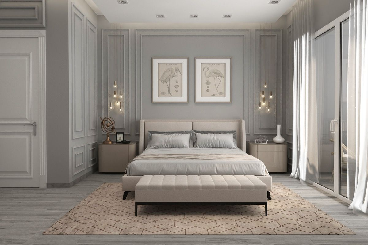 40 Transitional Bedrooms That Beautifully Bridge Modern And Traditional Transitional Bedroom Design Transitional Decor Bedroom Transitional Decor Living Room