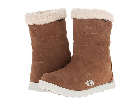 The North Face Kinley Bootie Sepia Brown/Moonlight Ivory - 6pm.com