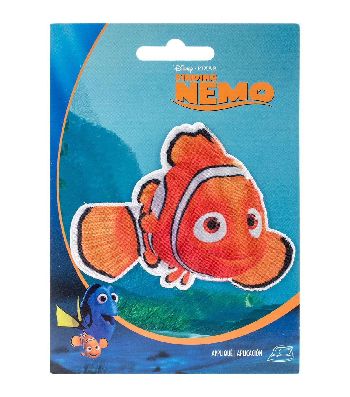 Disney Nemo IronOn Applique Iron on applique, Disney