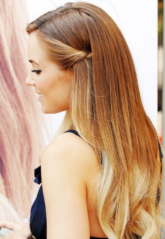 Peinados De Fiestas Rapidos Sencillos Elegantes Tendencia Peinados Con Cabello Suelto Peinados Poco Cabello Peinados Pelo Largo
