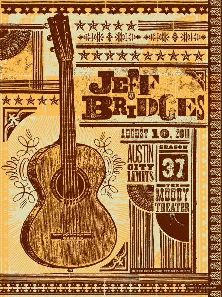 Jeff Bridges by Status Sergraph