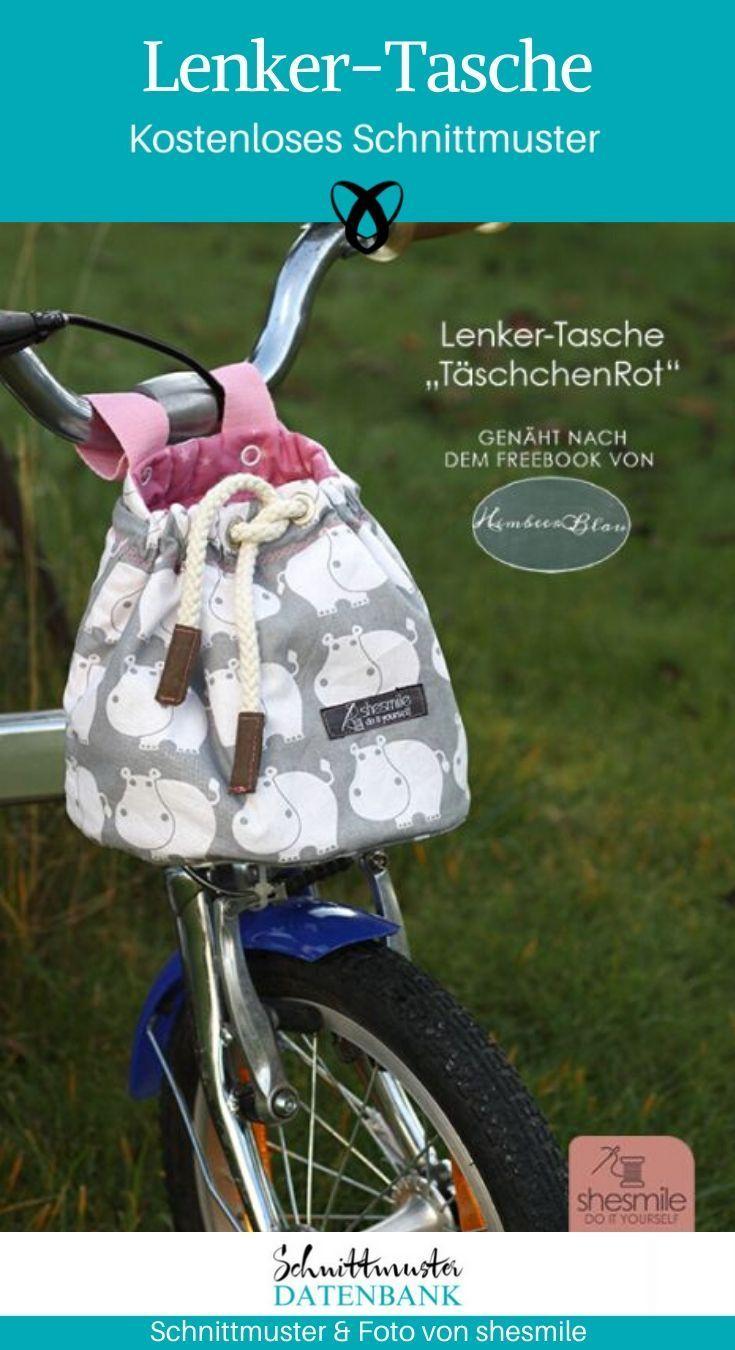 Lenker-Tasche Nähen für Kinder Ta