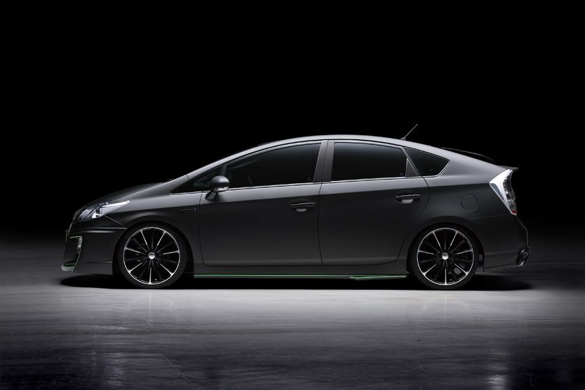 Wald International Brings Out The Darker Side Of The Toyota Prius