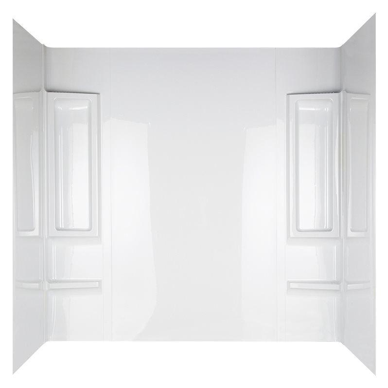 Mirolin 39984 White Acrylic Bathtub Wall Surround   Lowe\'s Canada ...