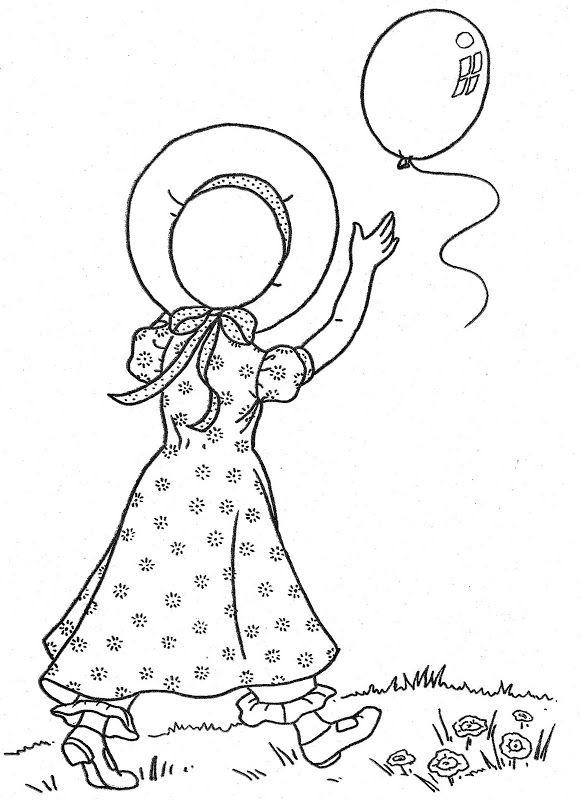 Pin By Vonnie Davis On Vintage Holly Hobby Coloring Books Coloring Pages Abc Coloring Pages
