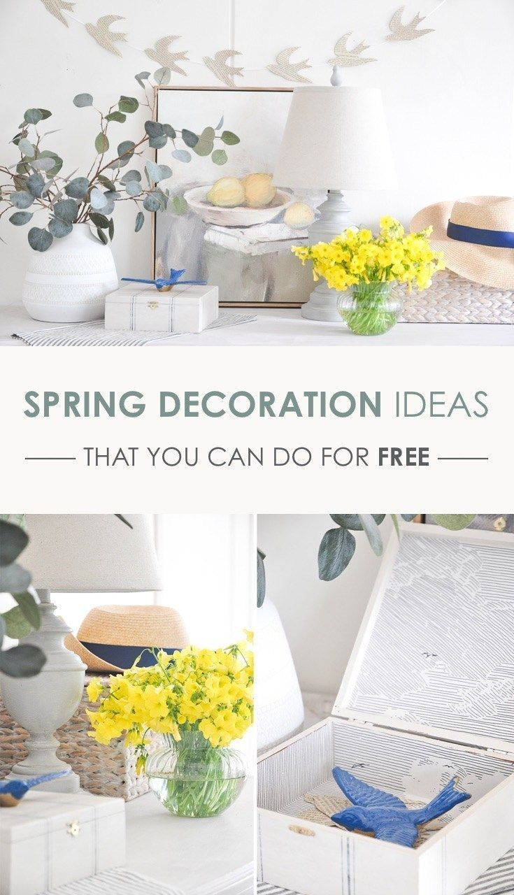Spring Decoration Ideas For Entryway Console Table Decor