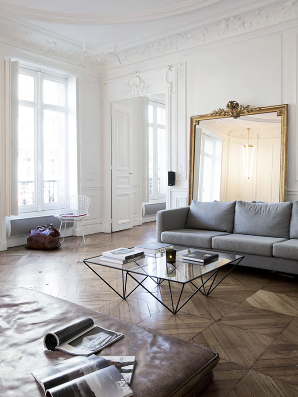 Vintage Chique Interior Via Cocolapinedesign Com Parisian Interior Paris Interiors Interior Architecture