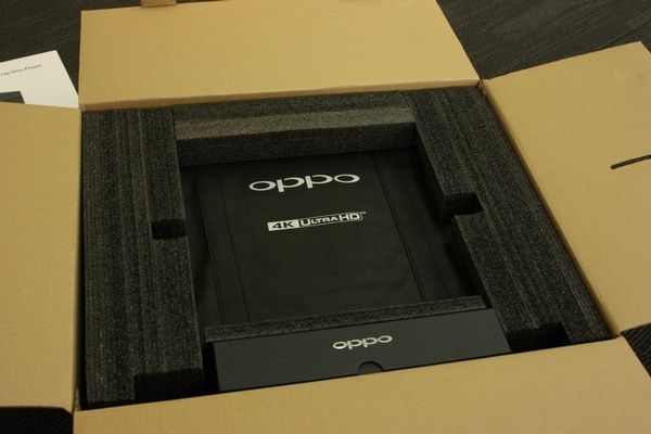 Oppo Udp 205 Packaging Blu Ray Player Blu Ray Hifi