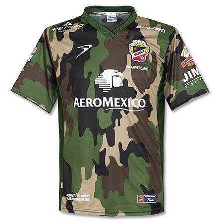 Camiseta del Club Irapuato 2015 Estilo Camuflado  Irapuato  Guanajuato   México f2509208ba8e9