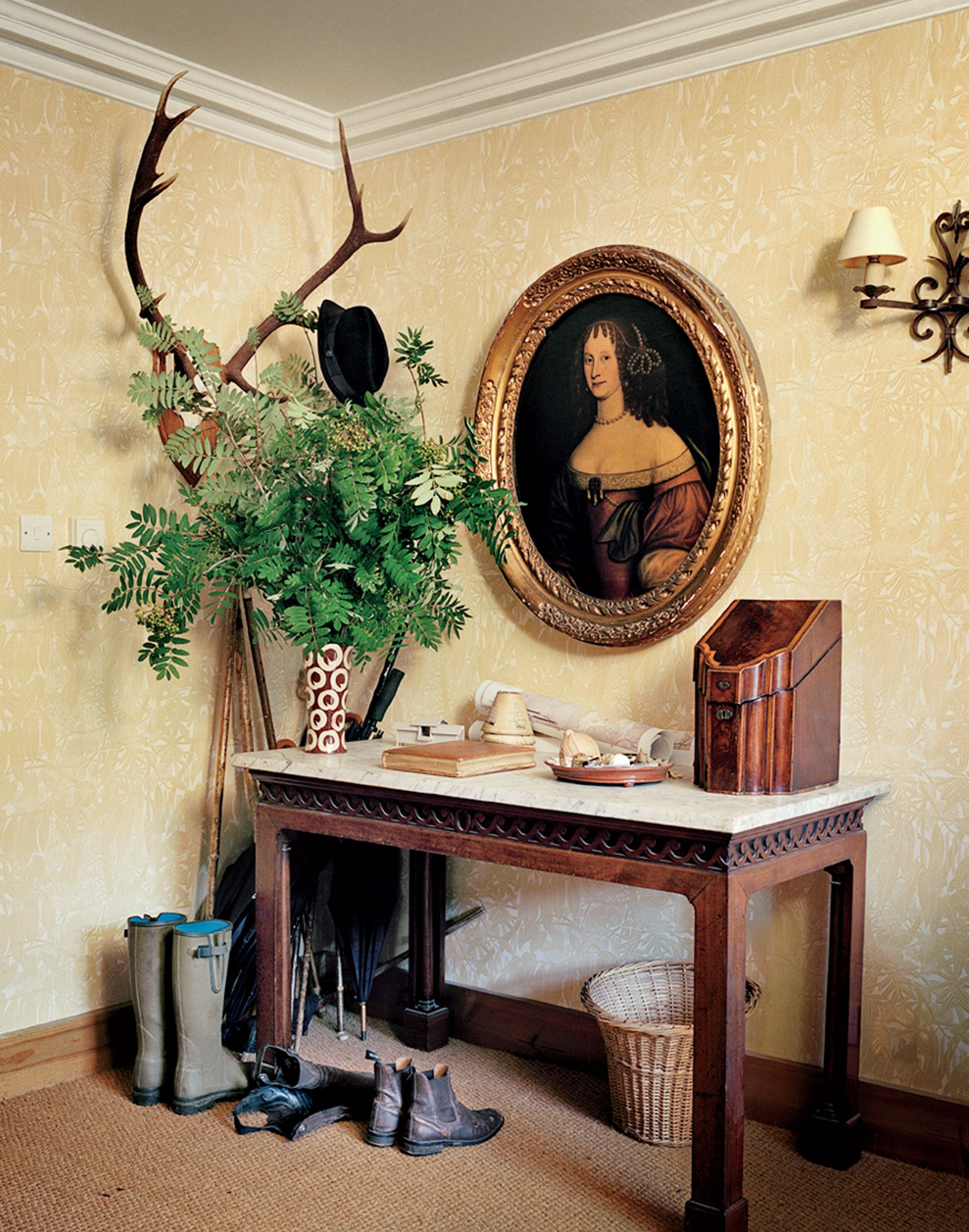 English country home interiors   Rules for Achieving the Look of a Perfect English Country Estate