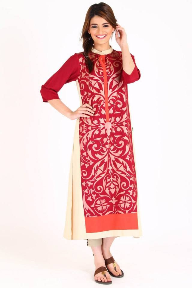 Ego-Winter-Dresses-red-Collection-2014-2015-For-lady.jpg (640×960 ...