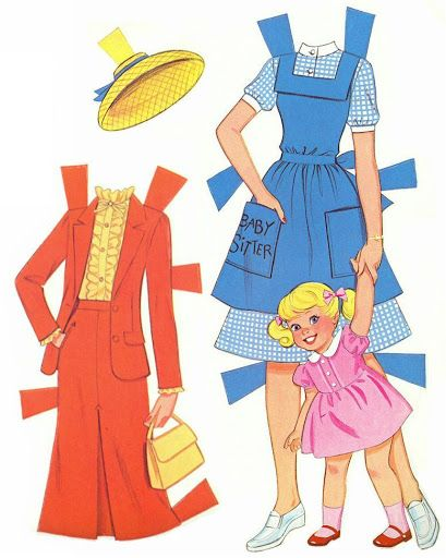 Paper Dolls~Twirly Curls Barbie - Bonnie Jones - Picasa Web Albums