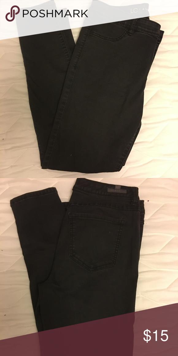 Lauren Conrad Black Skinny Jeans Black skinny jeans. No flaws! LC Lauren Conrad Jeans Skinny