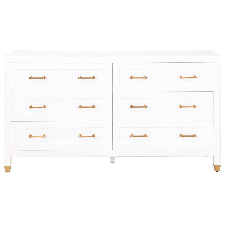 Stella 6 Drawer Double Dresser In 2021 Double Dresser Dresser Drawers [ 1500 x 1500 Pixel ]