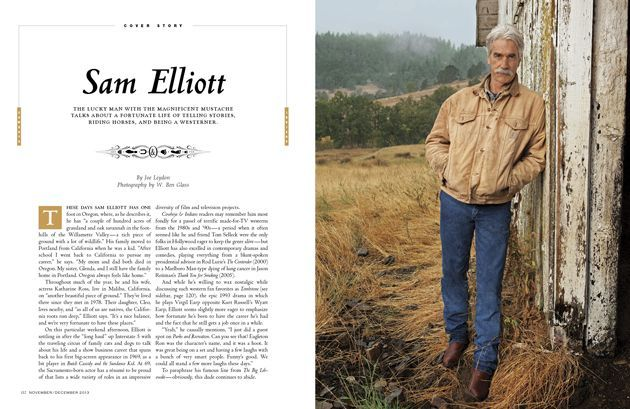 Sam Elliott's Home in Oregon | ... November/December 2013 Cover: Actor And Reader Favorite Sam Elliott