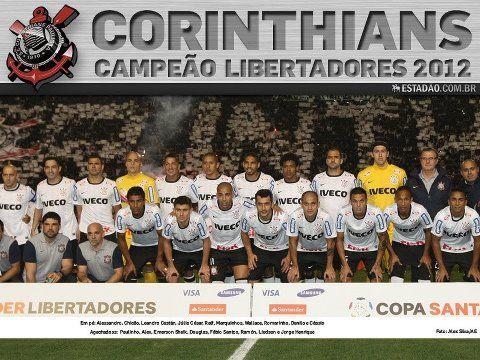 Poster Corinthians Campeao Libertadores 2012 Libertadores 2012 Wallpaper Corinthians Corinthians Paulista