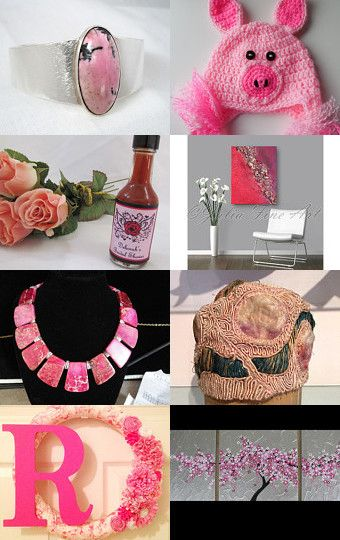 Black and Pink by Thomas Ludes on Etsy