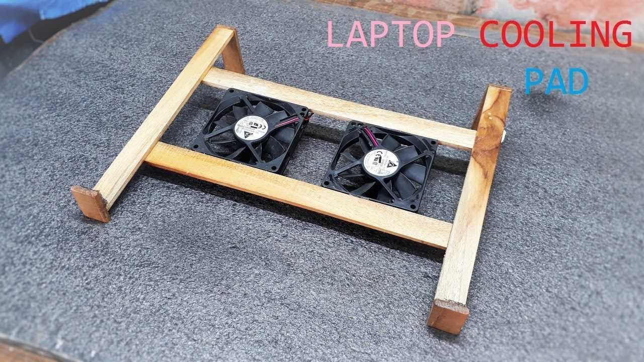 How To Make A Cooling Pad For Laptop At Home Laptop Cooling Pad