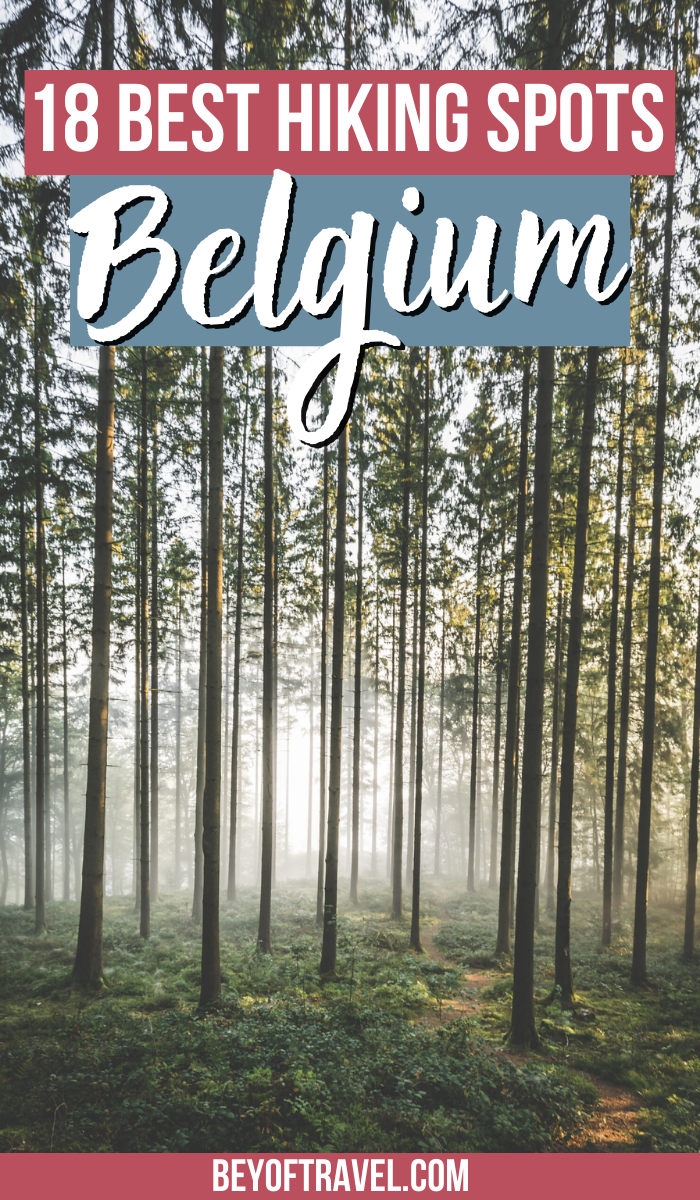 Hiking in Belgium