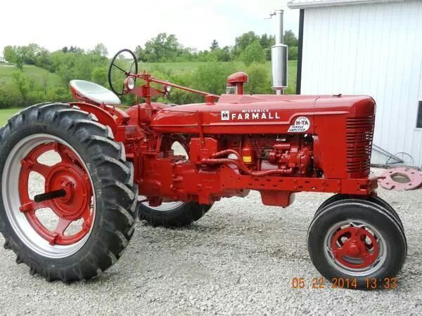 FARMALL SUPER H-TA built from a SUPER H front end and 300 or