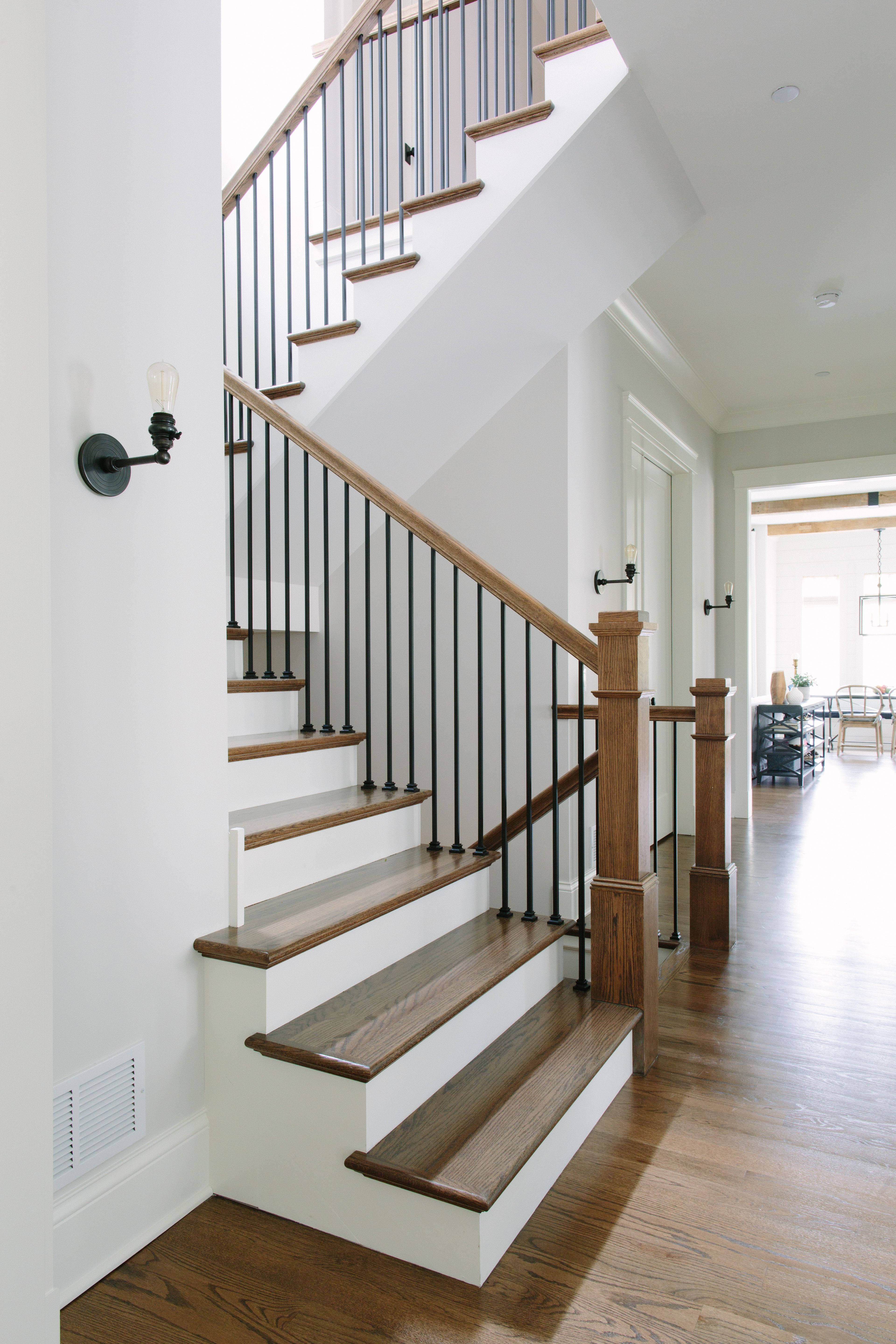 Kate Marker Interiors Dove Residence Staircase Design Wood