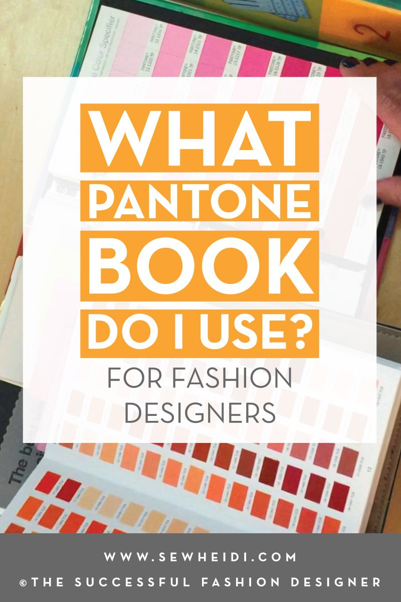 How Do I Know What Pantone Book To Use Pantone Book Fashion Design Jobs Pantone Color Guide