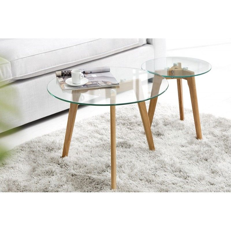 Table Basse Scandinave En Verre Table Basse Verre Table Basse Table Basse Bois