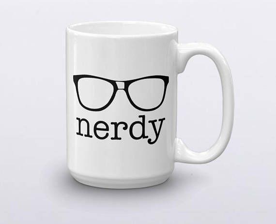 Nerdy Mug Nerd Life Funny Birthday Gift College Grad Geeky Gifts Fo