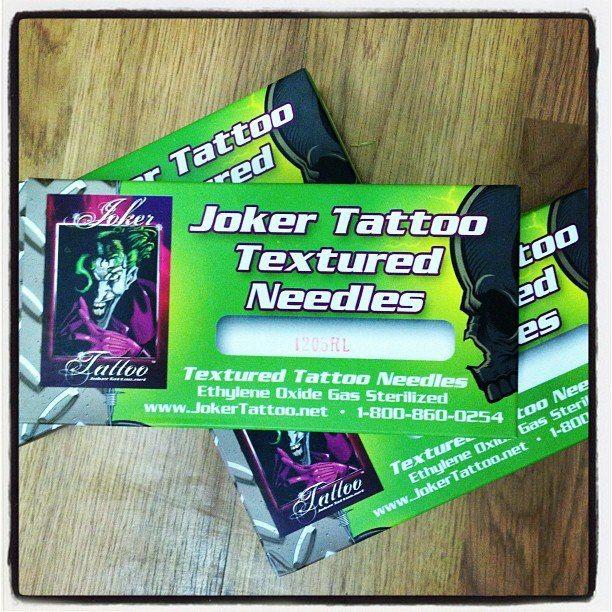 #jokertattoo #texturedneedles #tattooneedles #needles