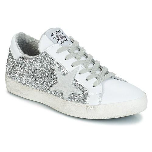 d07e76e6de Shoes Women Low top trainers Meline GHIA Silver