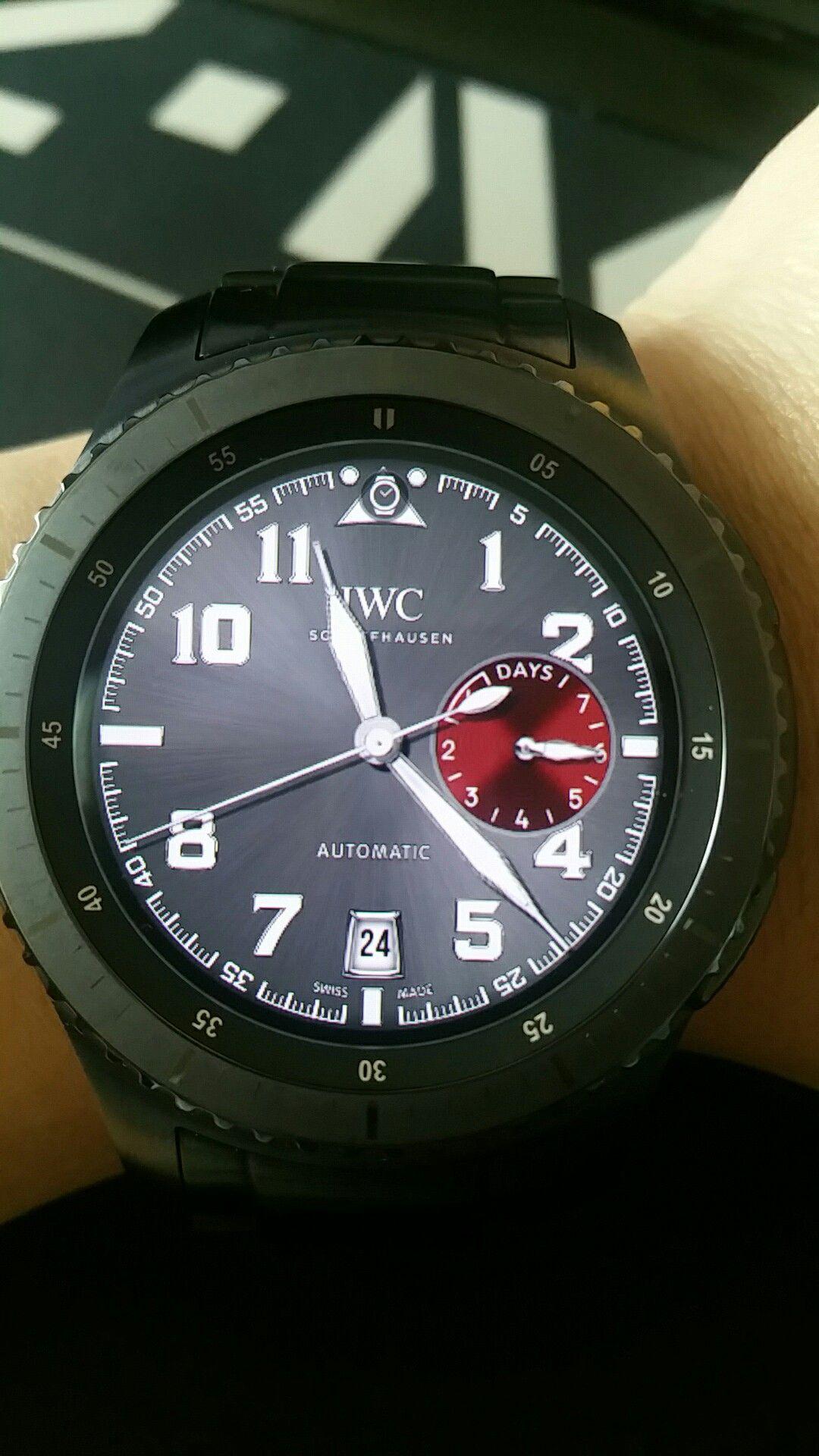 Iwc watch face
