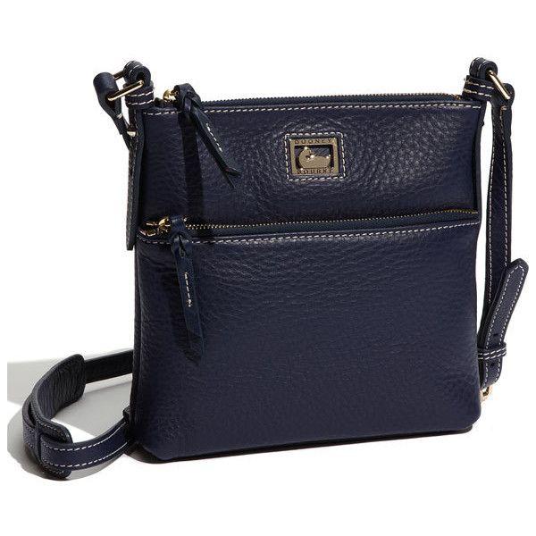 Dooney & Bourke 'dillen Ii Letter Carrier' Crossbody Bag ($158) ❤ liked on Polyvore