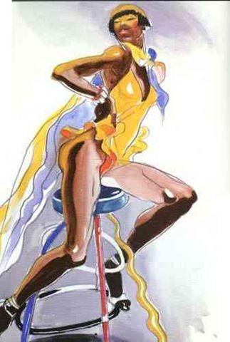Antonio Lopez Dibujos De Moda Bocetos De Moda Y Illustration