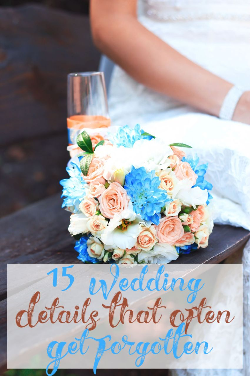 15 Small Wedding Details That Often Get Forgotten In 2020 Small Wedding Small Wedding Photography Wedding Details