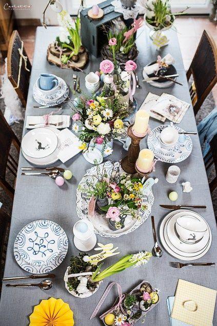 Ostern Deko: Grau & Pastell || Modern & traditionell