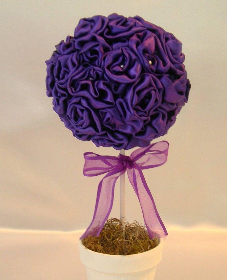 Topiarios Flores Buscar Con Google Decoracion De Unas Manualidades Rosa Sant Jordi
