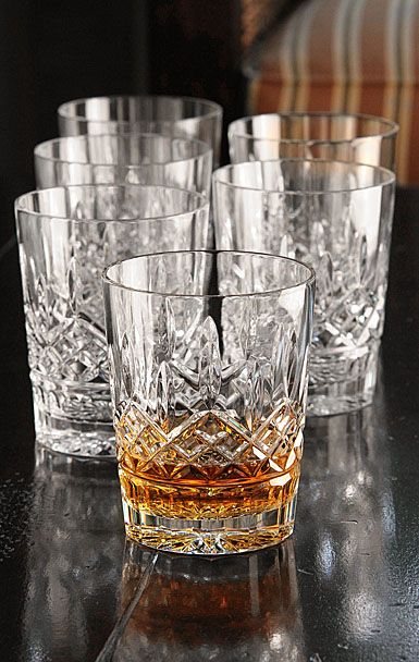 Waterford double old fashioned glasses why drink your scotch out of anything less scotch - Waterford cognac glasses ...