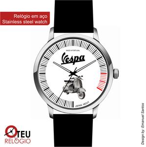 Mostrar detalhes para Relógio de pulso OTR VESPA MOTO 013