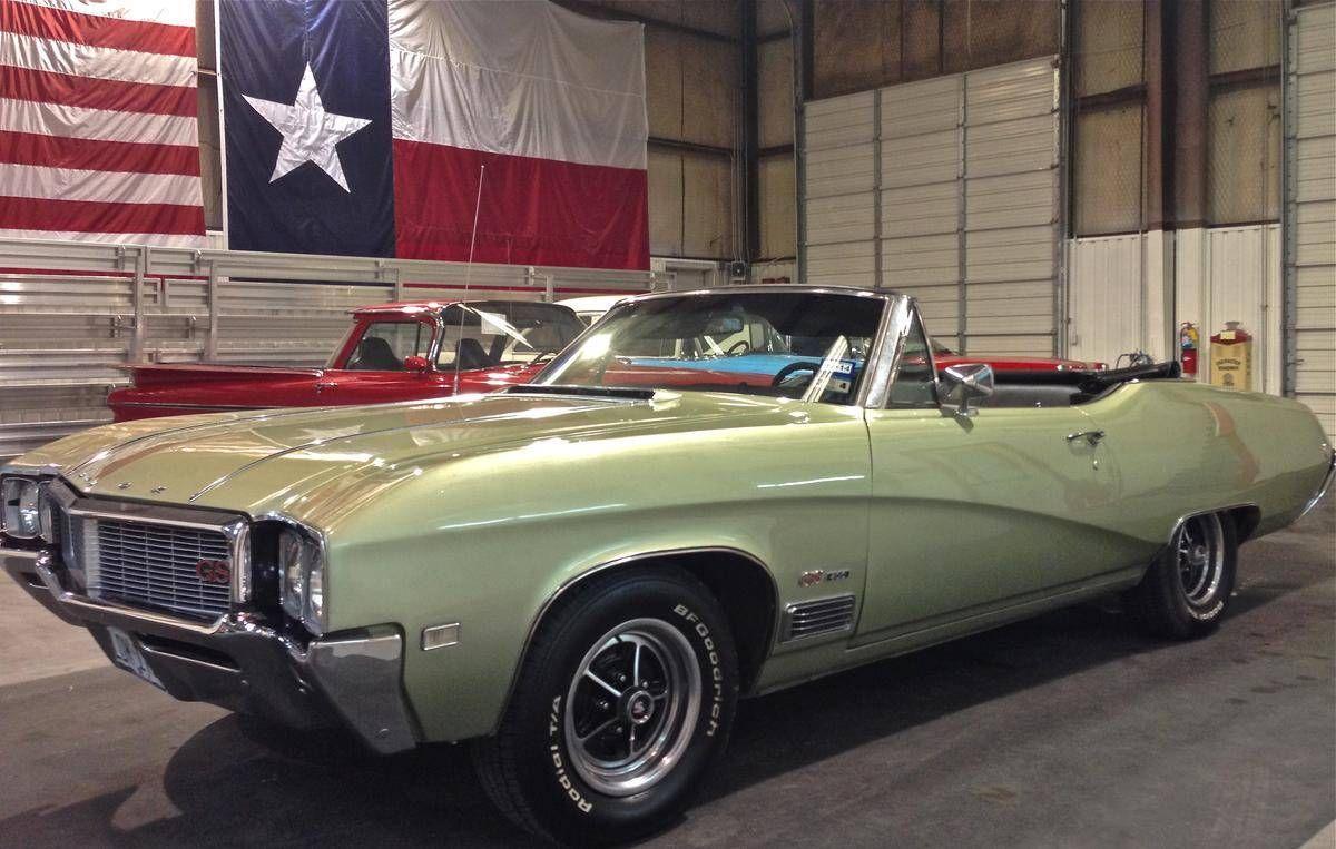 1968 Buick Skylark Gran Sport 400 Convertible Buick