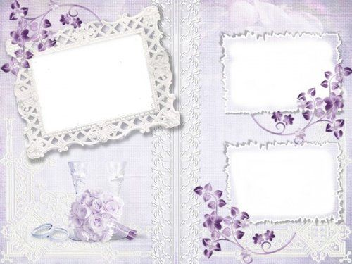 Free wedding photo frame psd template free download from google ...
