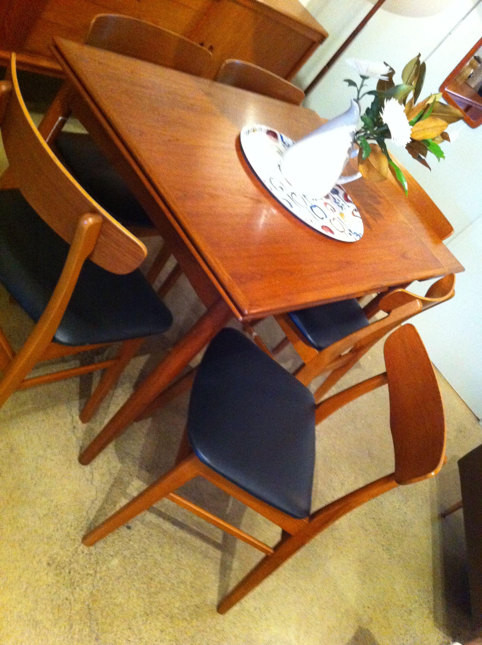 Teak Dining Table Farstrup Chairs Teak Table Teak Dining Table Teak Furniture