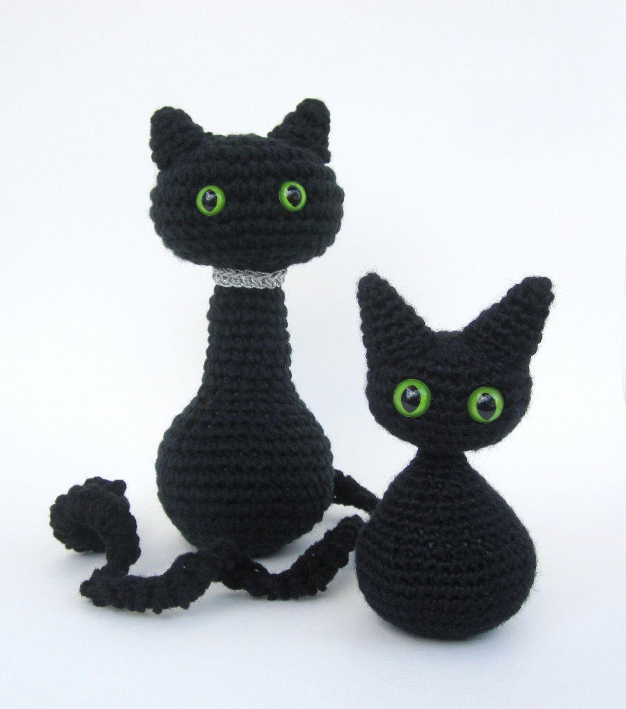 Crochet Decoration Patterns Crochet Pattern Cat Amigurumi Angel Wings Or Halloween Decoration