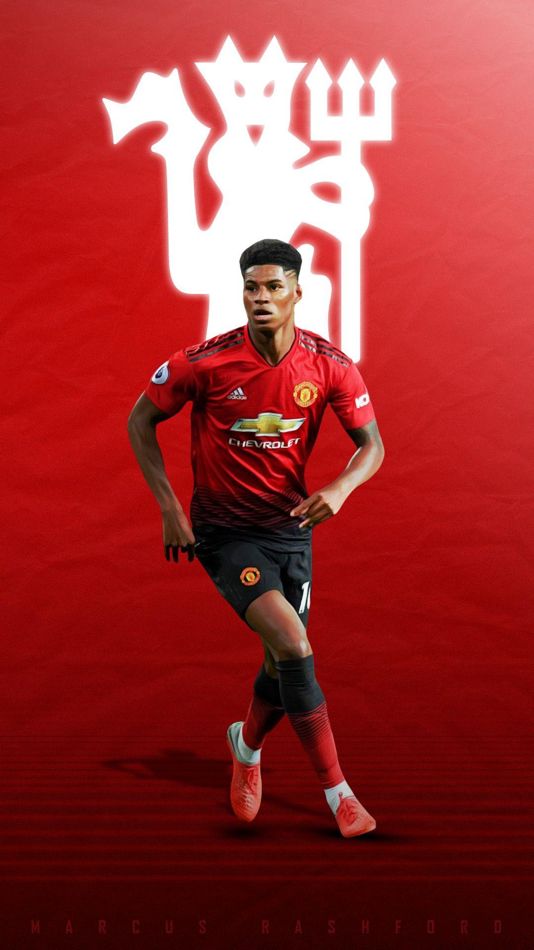Marcus Rashford Manchester United Manchester United Logo Manchester United Players Manchester United