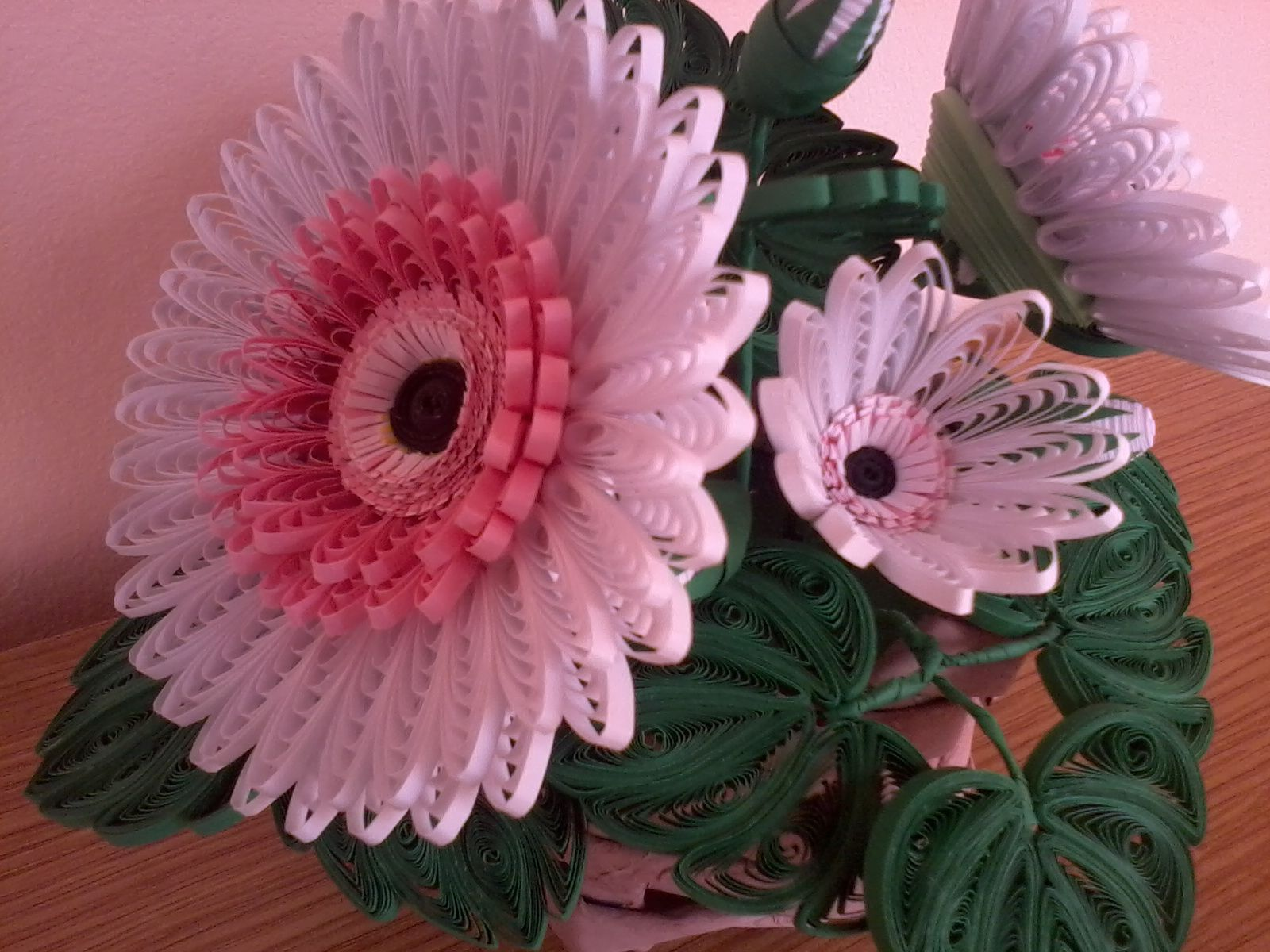 Quilling My Passion Quilled Gerbera Quilling Work Paper Quilling Flowers Quilling Designs