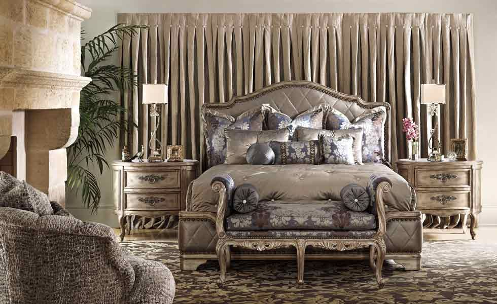 Bedroom Furniture Luxury Sets Marc Pridmore Designs Regarding Upscale Decorating