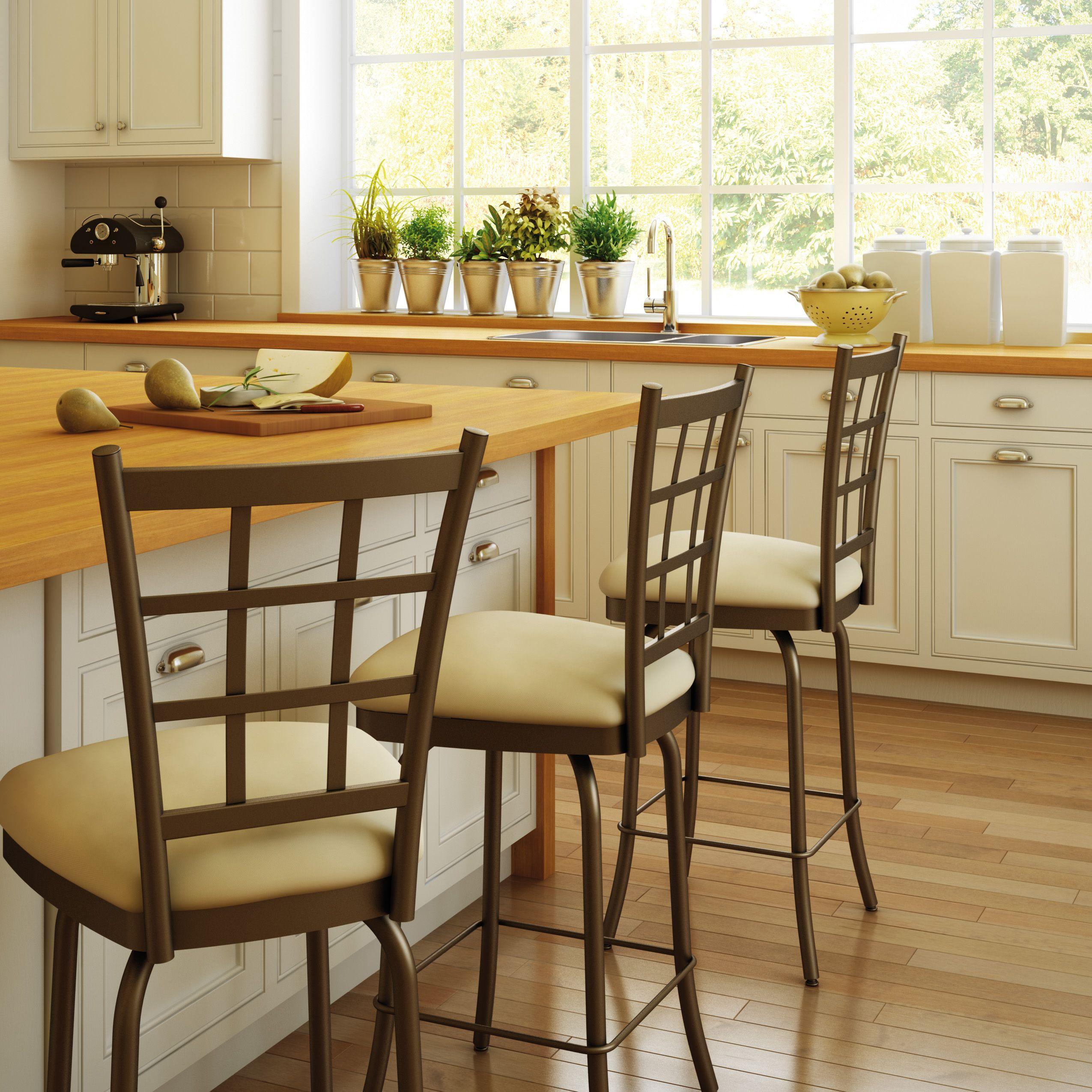 AMISCO Jamie Stool Furniture Kitchen Countryside